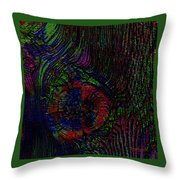 Wood Thoughts Throw Pillow