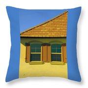 Woodbury Windows No 2 Throw Pillow