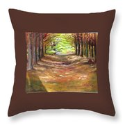 Wooded Sanctuary Throw Pillow