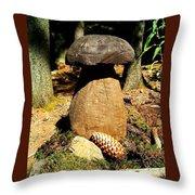 Wooden Art Throw Pillow