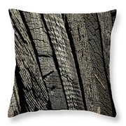 Wooden Water Wheel Throw Pillow by LeeAnn McLaneGoetz McLaneGoetzStudioLLCcom