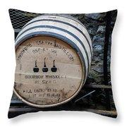 Woodford Reserve Barrel Throw Pillow