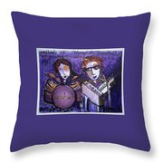 Woodhands At Monolith Throw Pillow