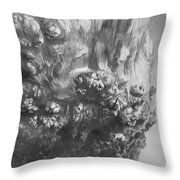 Woodknob  Throw Pillow