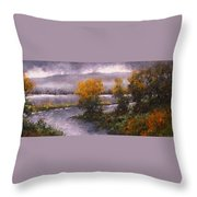 Woodland Bottoms Throw Pillow