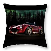 Woodland Cobra Throw Pillow
