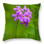 Woodland Dreaming Throw Pillow