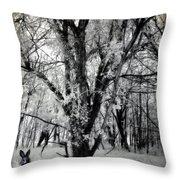 Woodland Fluff Throw Pillow