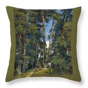 Woodland Grove Throw Pillow
