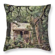 Woodland Mysteries Throw Pillow