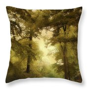 Woodland Passage Throw Pillow