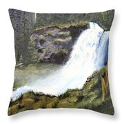 Woodland Respite Throw Pillow
