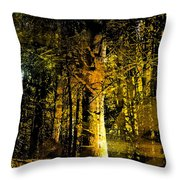 Woodland Tapestry Throw Pillow