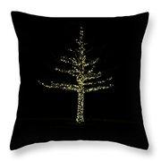Woodlands Waterway 1 Tree Throw Pillow