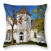 Woodlandville Methodist Church Throw Pillow