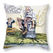 Woodrow Wilson: Mexico Throw Pillow