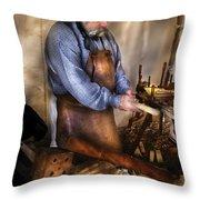 Woodworker - The Carpenter Throw Pillow