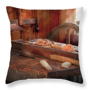 Woodworker - The Table Saw Throw Pillow