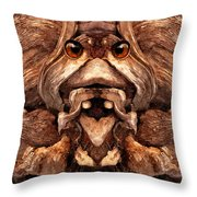 Woody 128a Throw Pillow