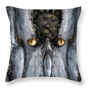 Woody 217 Throw Pillow