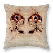 Woody 72 Throw Pillow