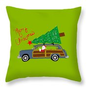 Woody Christmas Throw Pillow