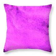 Wool Pink Throw Pillow