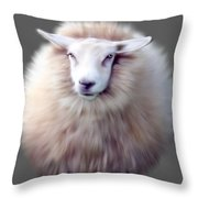 Woolly  Throw Pillow
