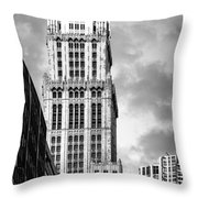 Woolworth Building Throw Pillow
