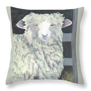 Wooly One Throw Pillow