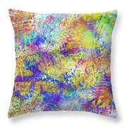 Work 00101 Abstraction Throw Pillow