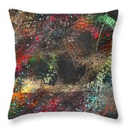Work 00101 Abstraction Variant 2 Throw Pillow