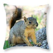 Work It Throw Pillow
