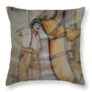 Work Not Dance Album Throw Pillow