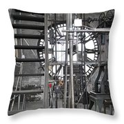 Work Time Throw Pillow