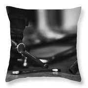 Workbench  Throw Pillow