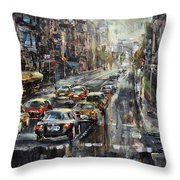 Workday Throw Pillow