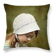 Working In The Fields Throw Pillow by Stephanie Frey
