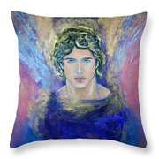 Working With Archangels Throw Pillow