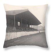 Workington - Borough Park - Popular Side 1 - 1960s Throw Pillow