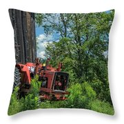 Works Waiting Throw Pillow