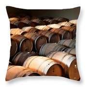 World-class Wine Is Made In California Throw Pillow by Christine Till