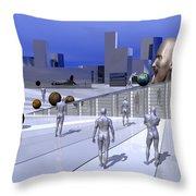 World Eater Throw Pillow