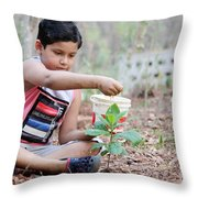 World Environment Day Throw Pillow