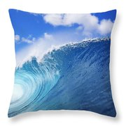 World Famous Pipeline Throw Pillow