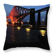 World Heritage Site At S Q Throw Pillow