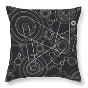 World In Motion Throw Pillow
