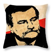 World Leaders 12 Throw Pillow