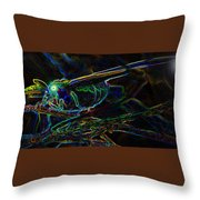 World Of The Luna Moth Throw Pillow