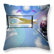 World On A String Throw Pillow